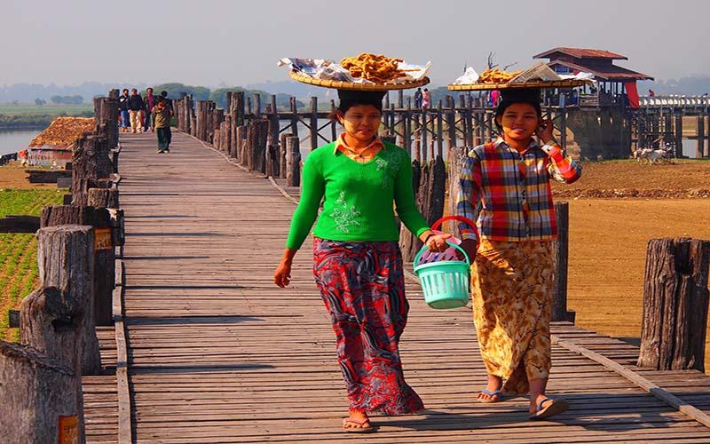مردم محلی میانمار
