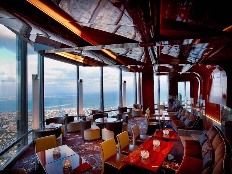رستوران مرتفع اتمسفر | تور دبی