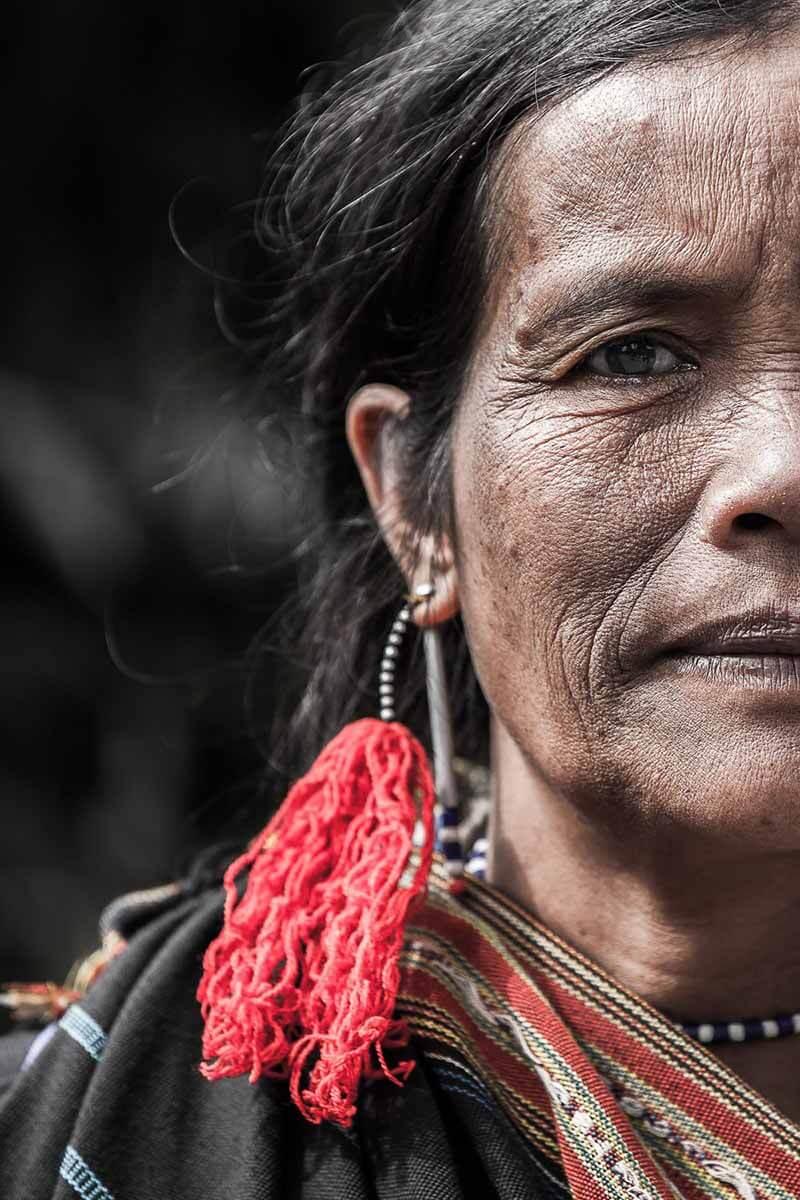 زنی از قبیله لولو