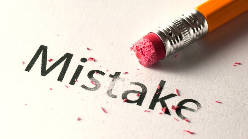 خطا و لغزش کاری