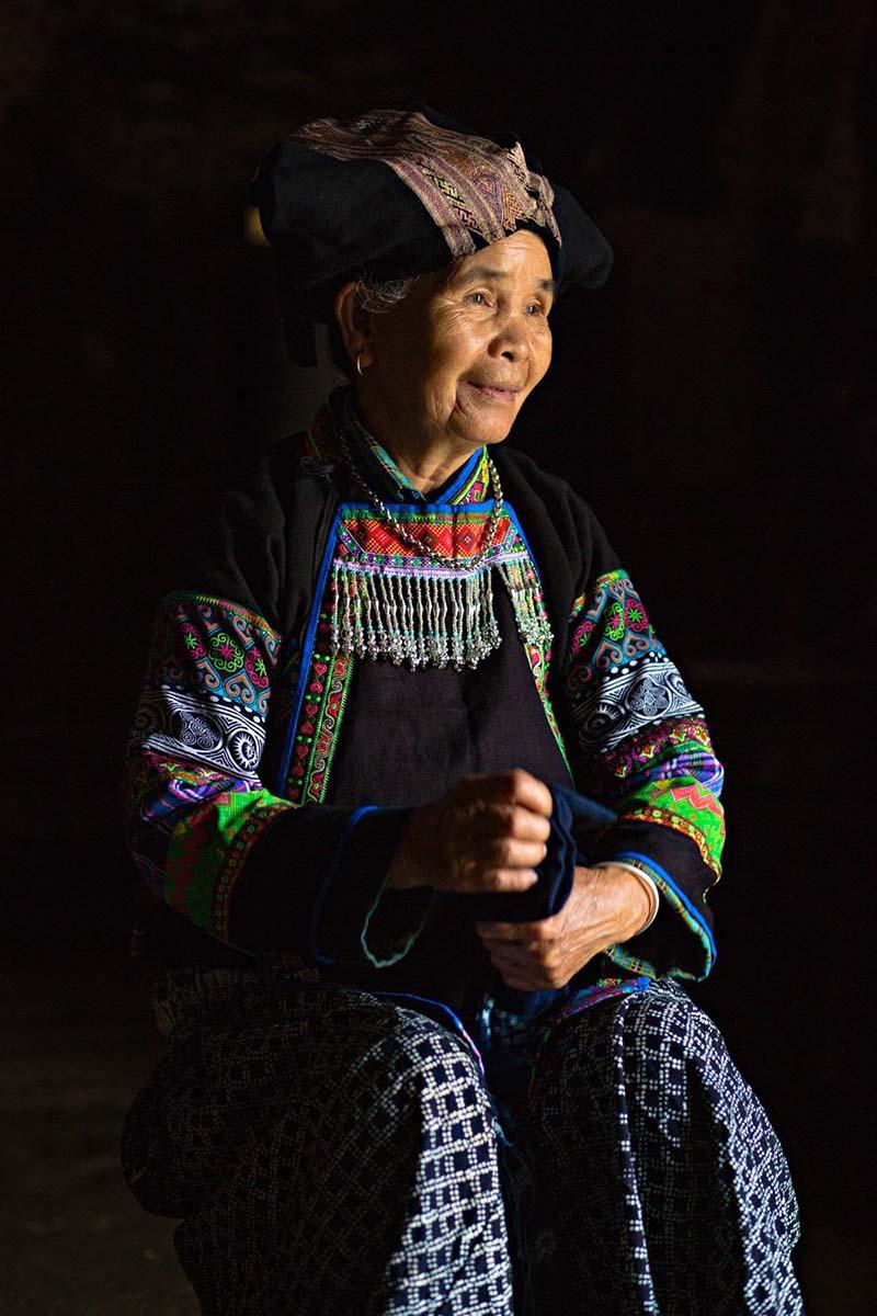 یکی از افراد بزرگ قبیله لولو