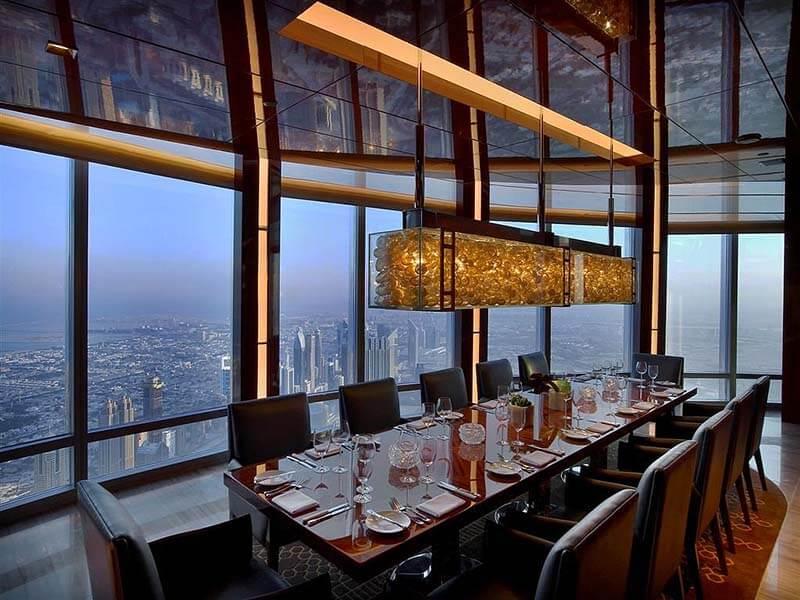 غذاخوری رستوران اتمسفر | تور دبی