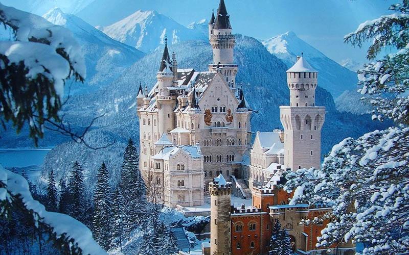 قلعه Neuschwanstein در آلمان