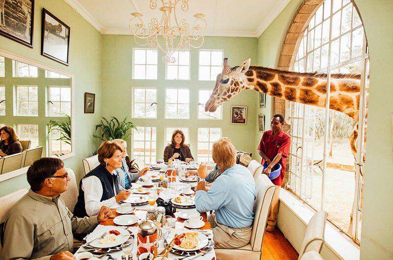 هتل Giraffe Manor