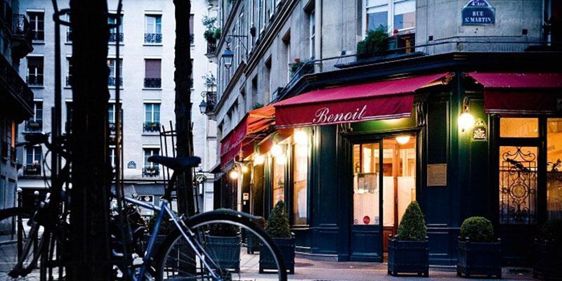 رستوران بنویت | رمانتیک ترین رستوران های پاریس