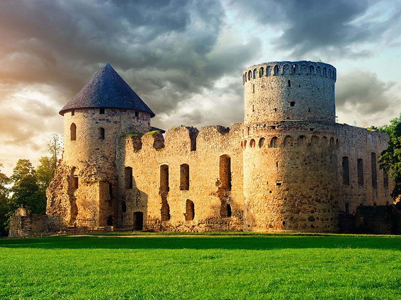 قلعه های قدیمی اروپا
