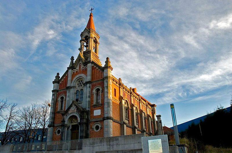 نمای بیرونی کلیسا
