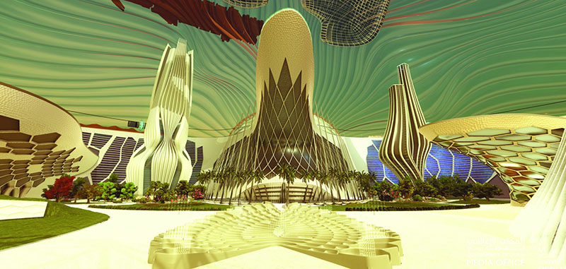 پروژه ی ساخت شهر در مریخ امارات