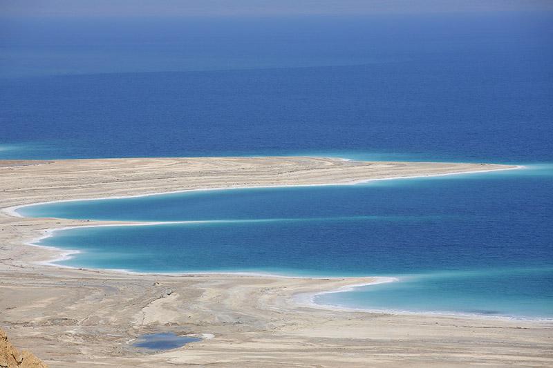 تصویری از دریای مرده