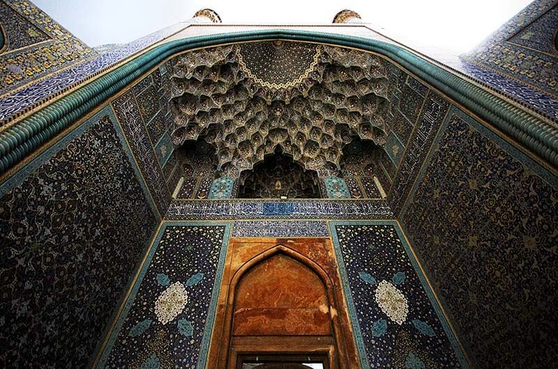 نمایی از مسجد امام اصفهان