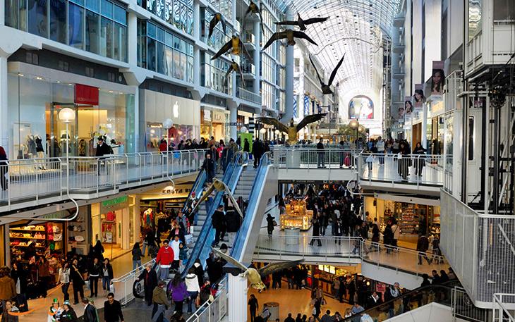 مراکز خرید در ونکوور