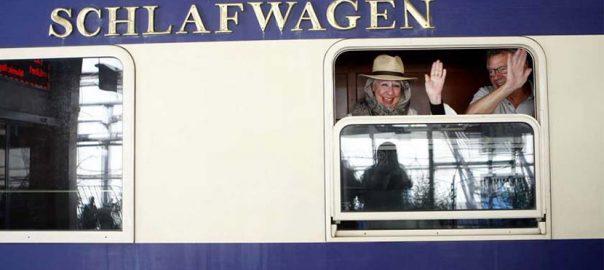 قطار عقاب لوکس طلایی   گردشگری
