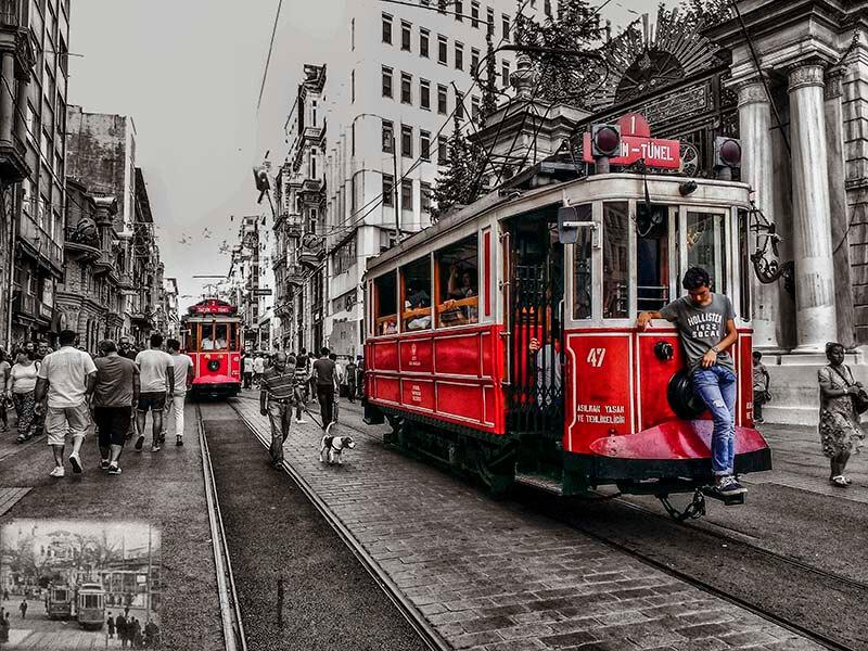 تراموا استانبول   سیستم حمل و نقل استانبول