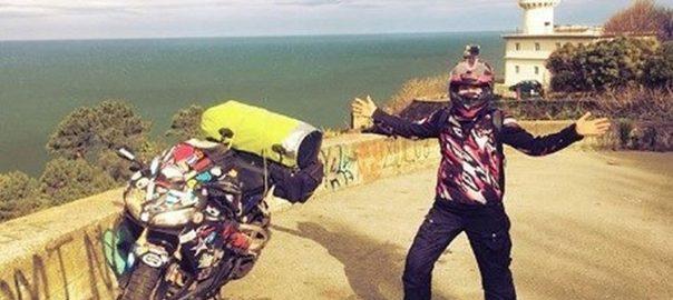 سفر به دور دنیا با موتور