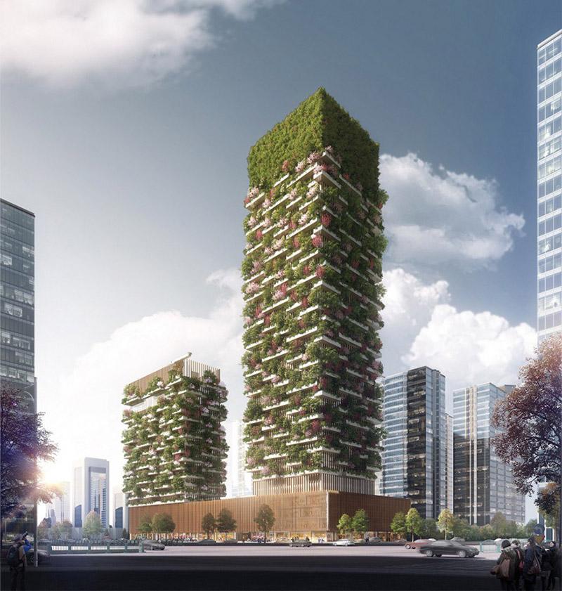 پروژه جنگل عمودی در چین