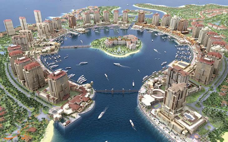 موقعیت جغرافیایی قطر