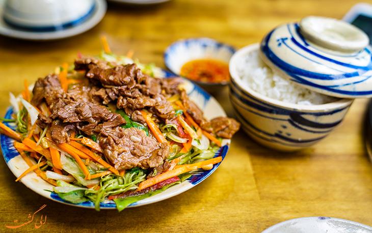 چند غذای محبوب در ویتنام