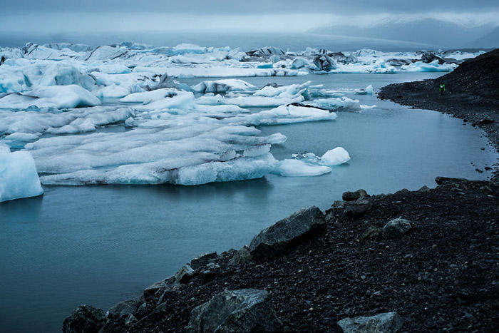 یخ های ذوب شده ایسلند