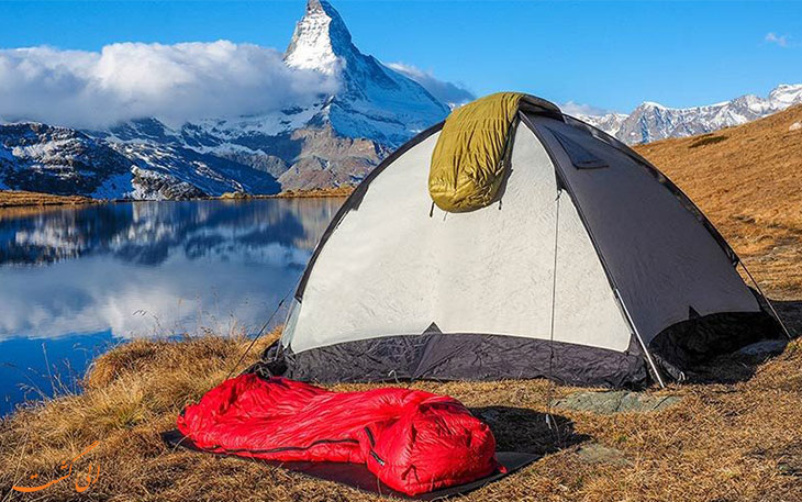 بهترین کیسه خواب برای سفر