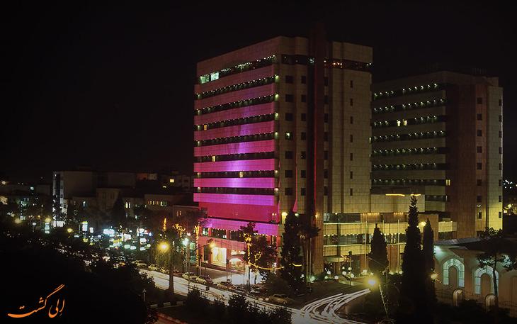 هتل پارس در شهر شیراز