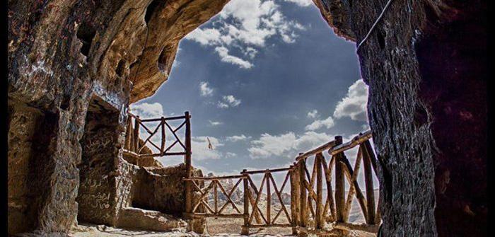 ورودی غار کرفتو