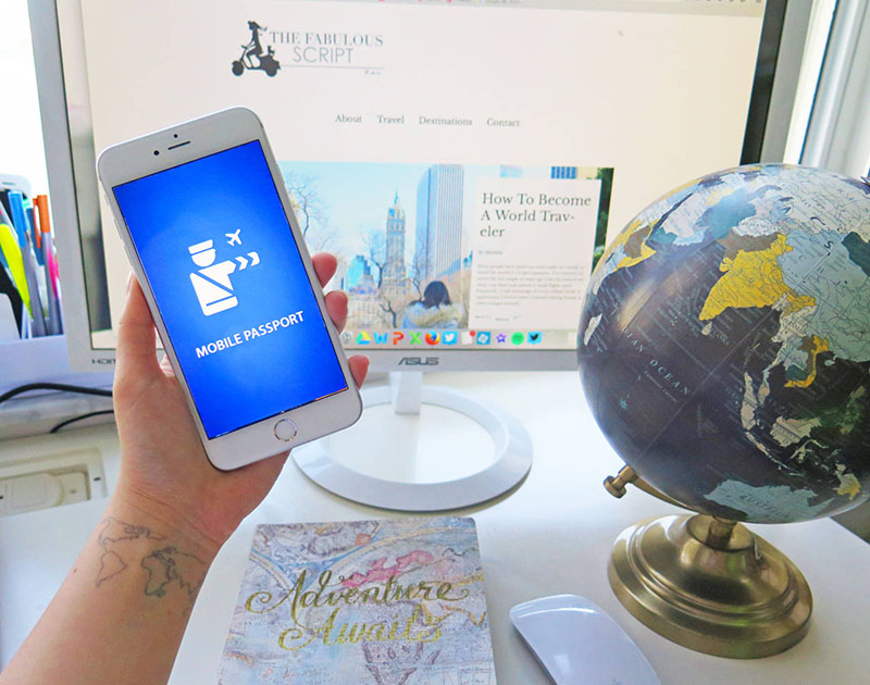 گذرنامه ی موبایلی