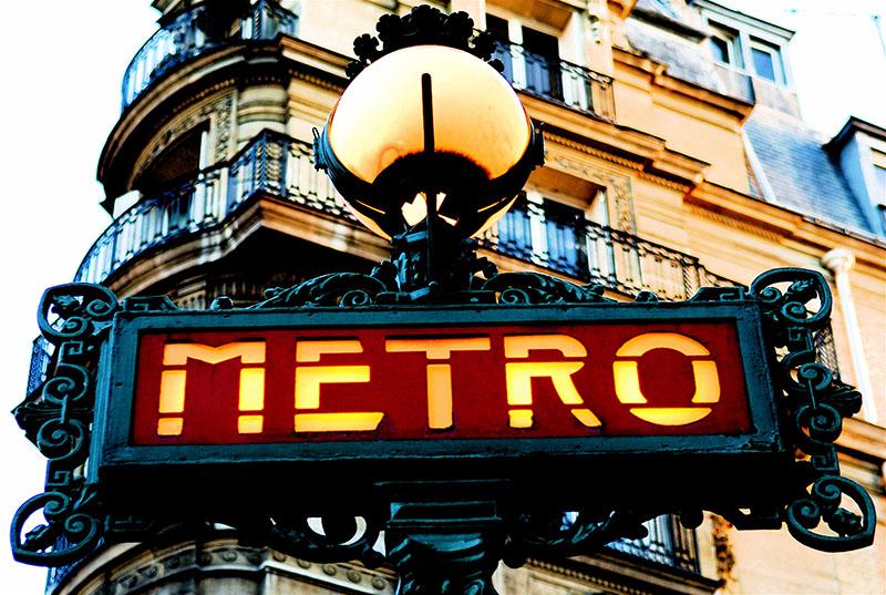 قیمت بلیت مترو در پاریس