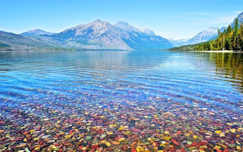 دریاچه های پارک ملی گلیشر