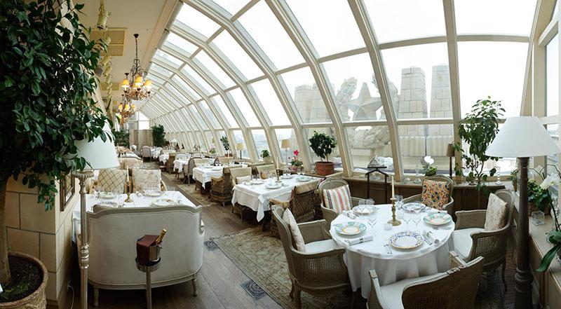 رستوران هتل رادیسون رویال مسکو