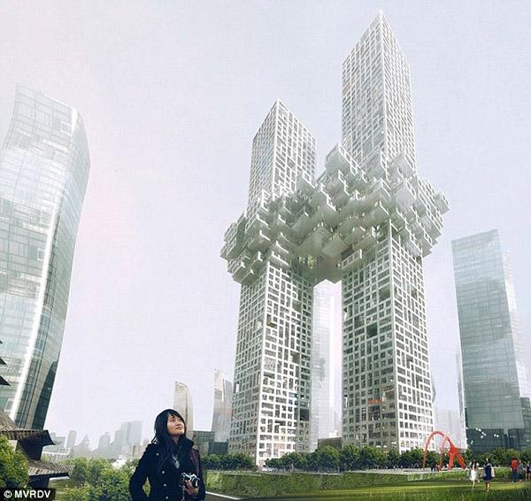 برج ابر در کره جنوبی