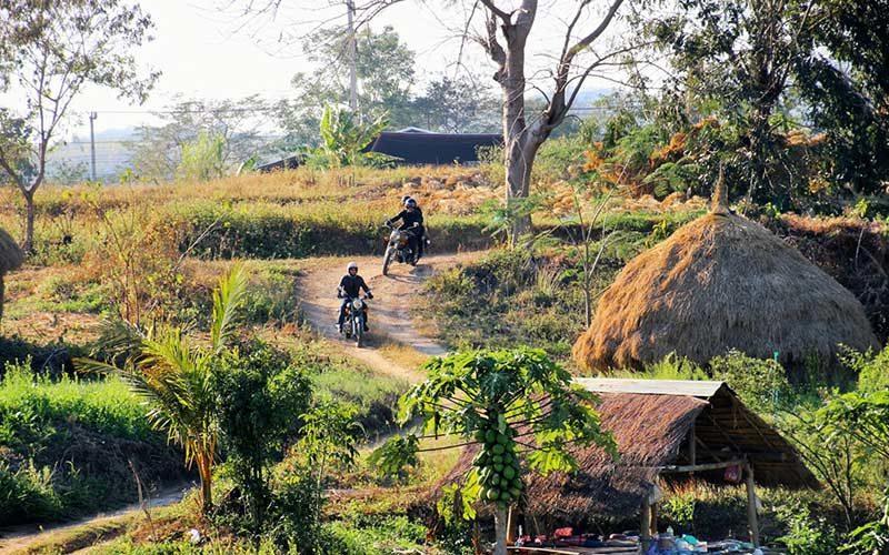 موتور سواری در تایلند