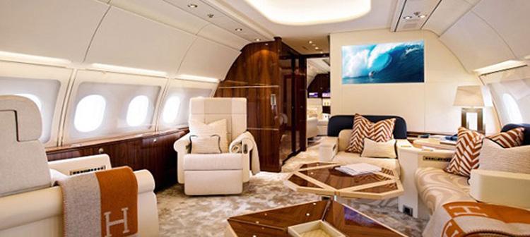 ایرباس مدل A340 داخل