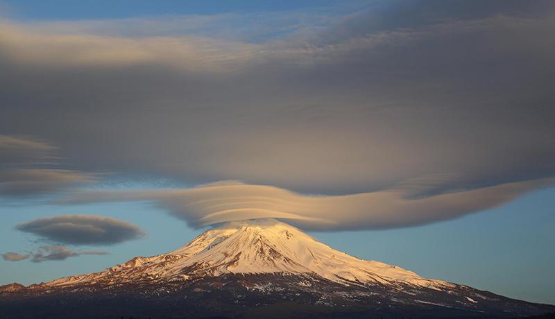 ابرهایی با شکل های عجیب سفینه