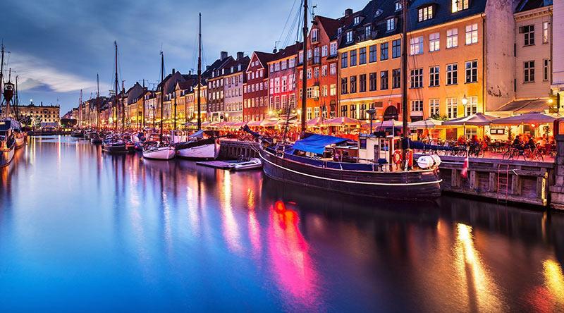 کانال های آب دانمارک