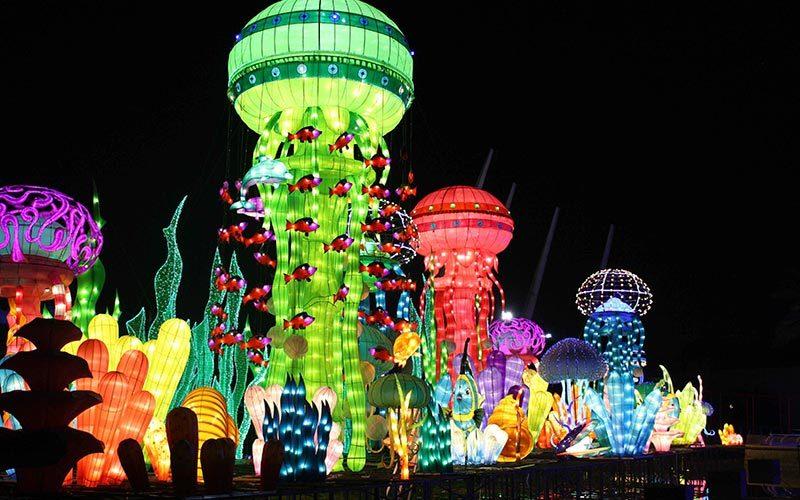 پارک گاردن گلو در دبی