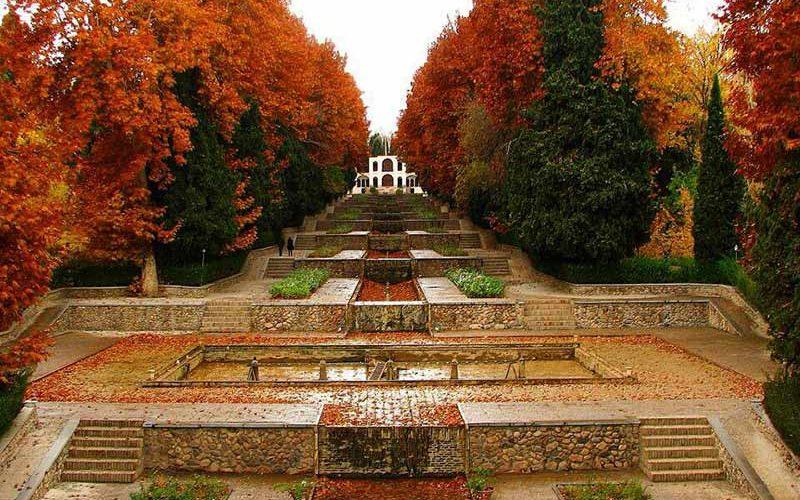 باغ شاهزاده در پاییز