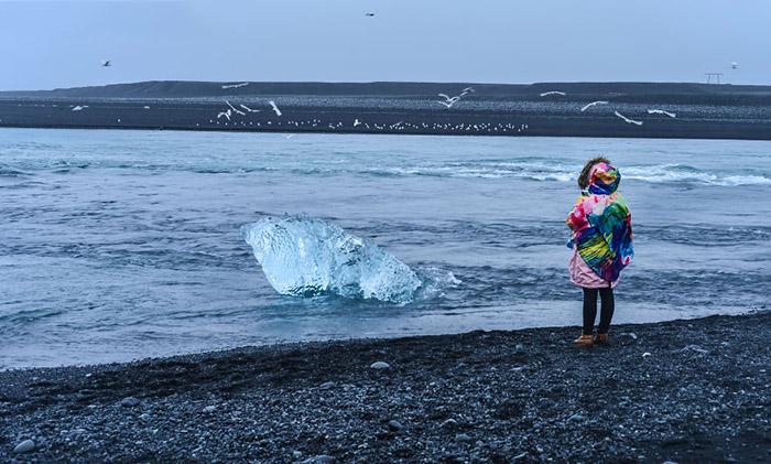تغییرات یخ های ایسلند