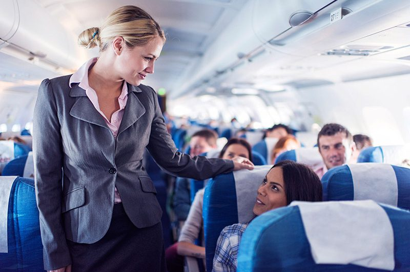 مهارت مهماندار هواپیما