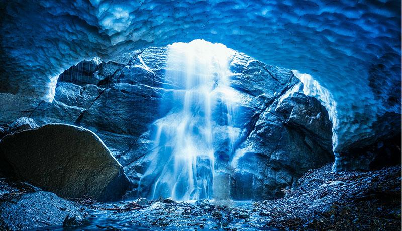 غار یخی در اتریش