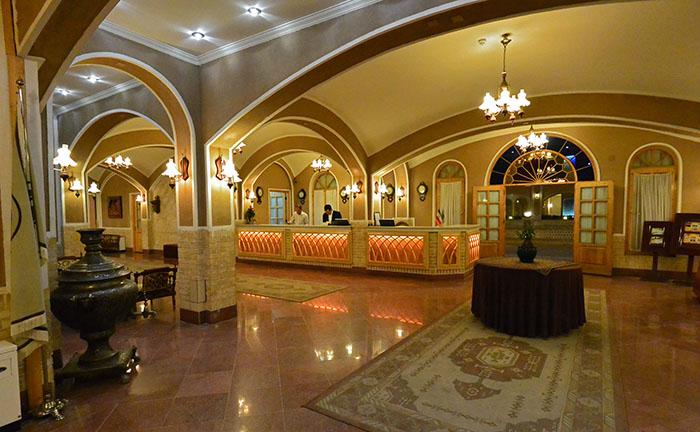 هتل مالک التجار یزد