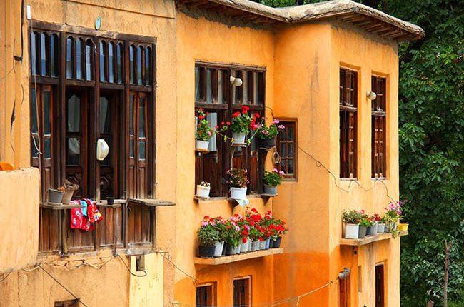 معماری روستای ماسوله