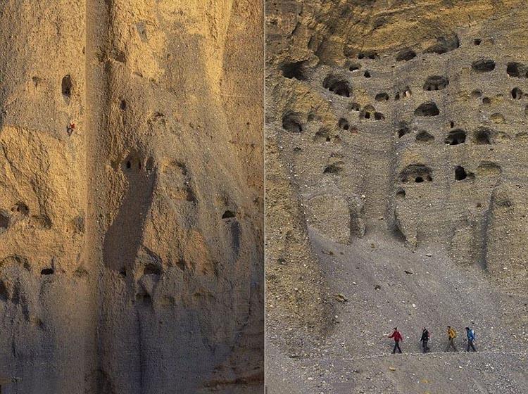 غارهای موستانگ