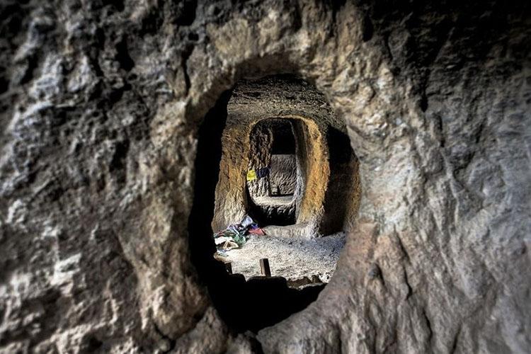 ارتباط داخلی غارها با هم