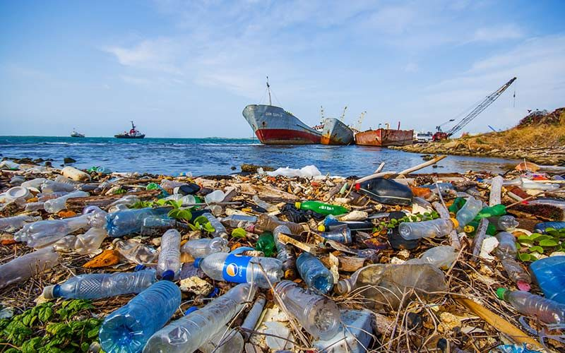 زباله دریا