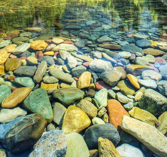 صخره های رنگی