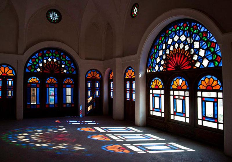 داخل خانه طباطبایی در کاشان