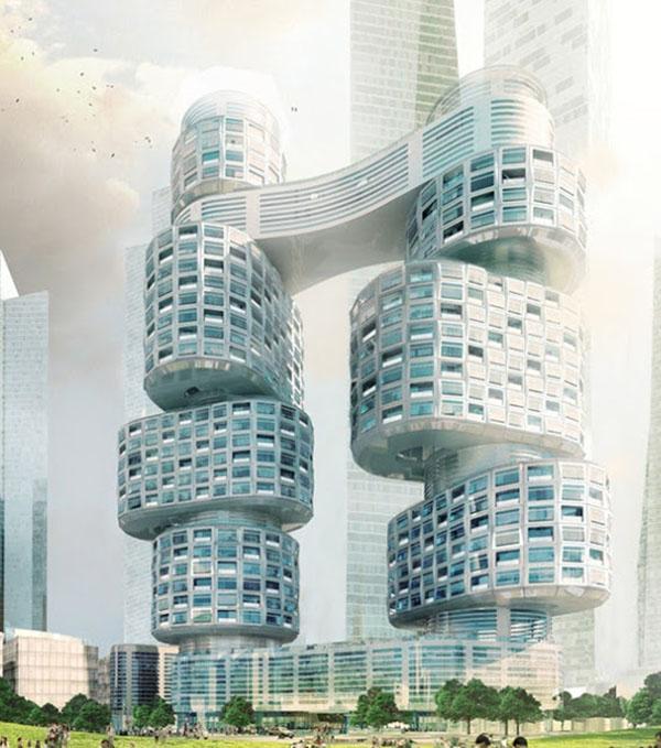 برج های ولو در سئول