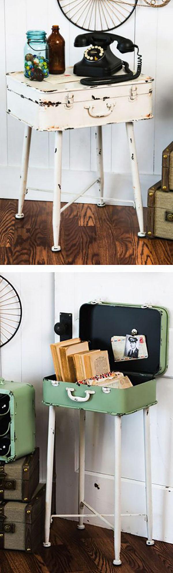 چمدان های قدیمی و کاربرد آنها