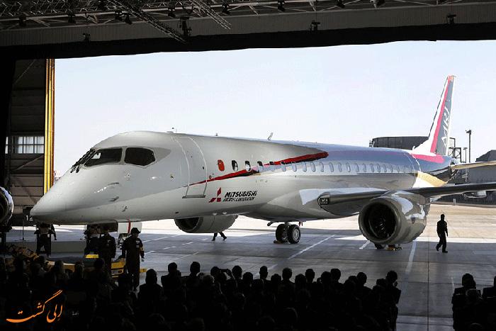 اولین هواپیمای مسافربری میتسوبیشی