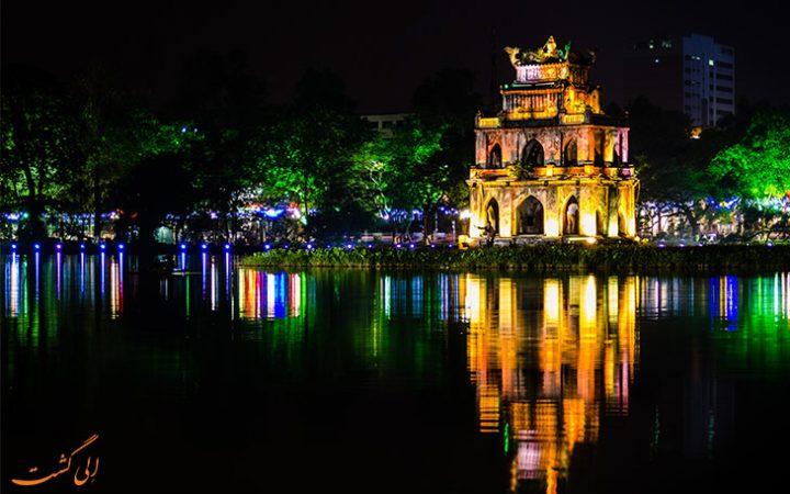 هانوی در شب